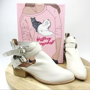 """Jeffrey Campbell """"Everly"""" Bootie Buckle Straps"""